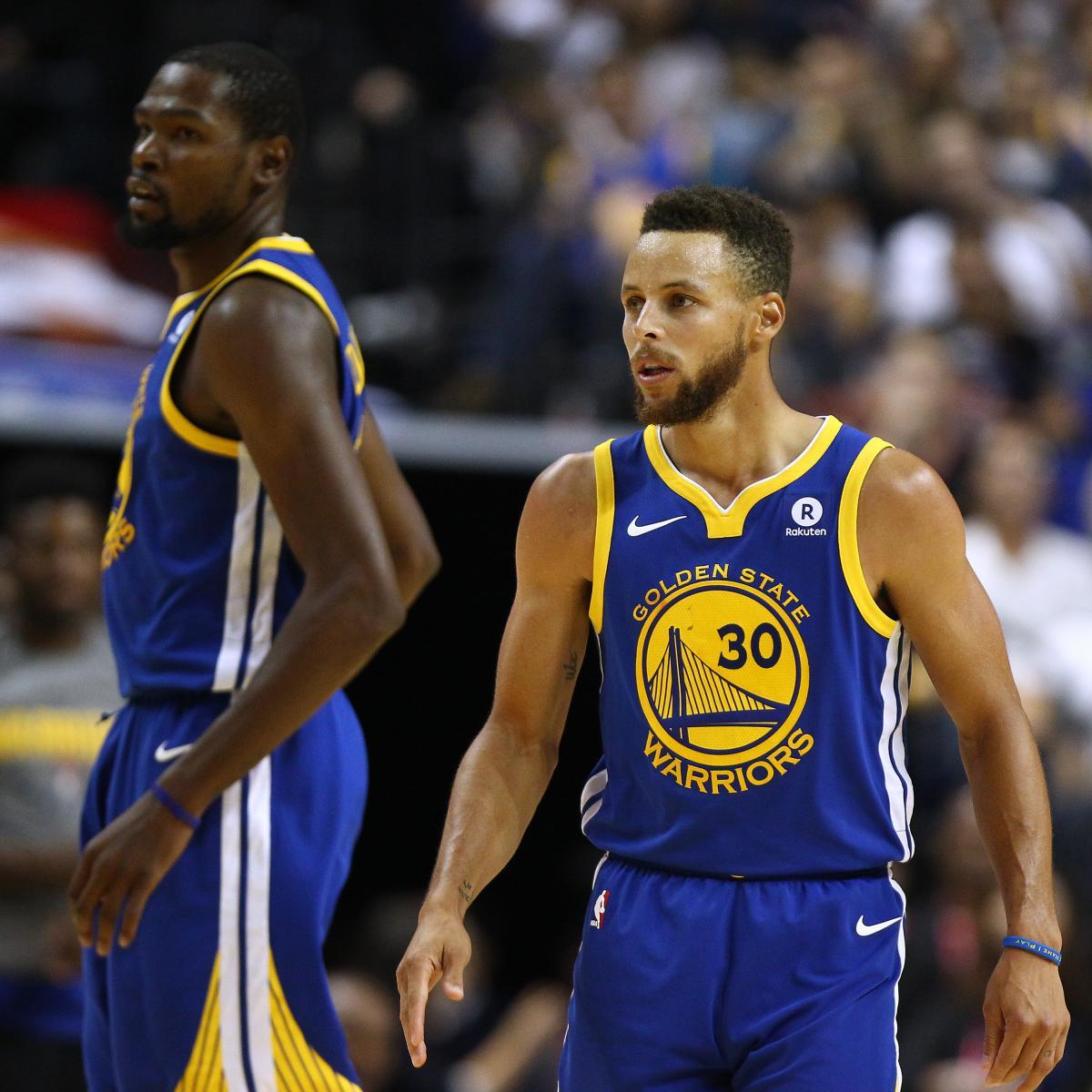 2017 Latest News: Power Ranking Golden State Warriors Roster Entering 2017