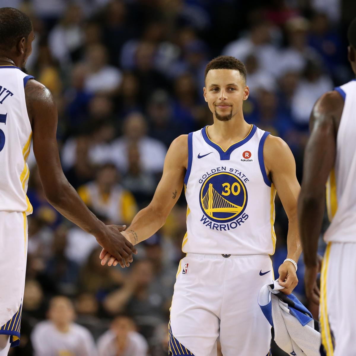 Warriors Record Without Stephen Curry 2017: Golden State Warriors: Month-by-Month Record Predictions