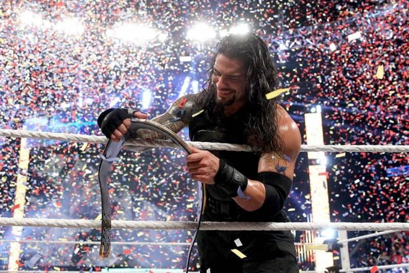 Roman Reigns at Survivor Series 2015.
