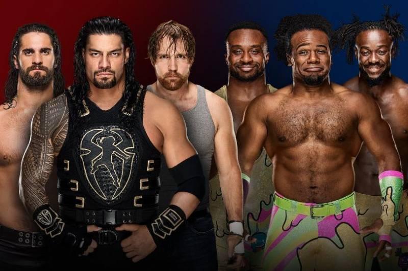 The Shield vs. New Day
