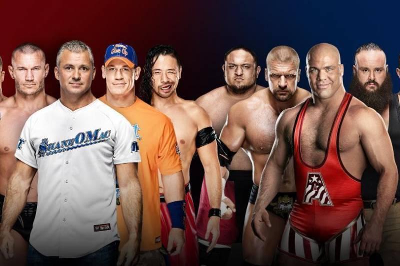 Men's five-on-five Elimination Tag Team match at Survivor Series.