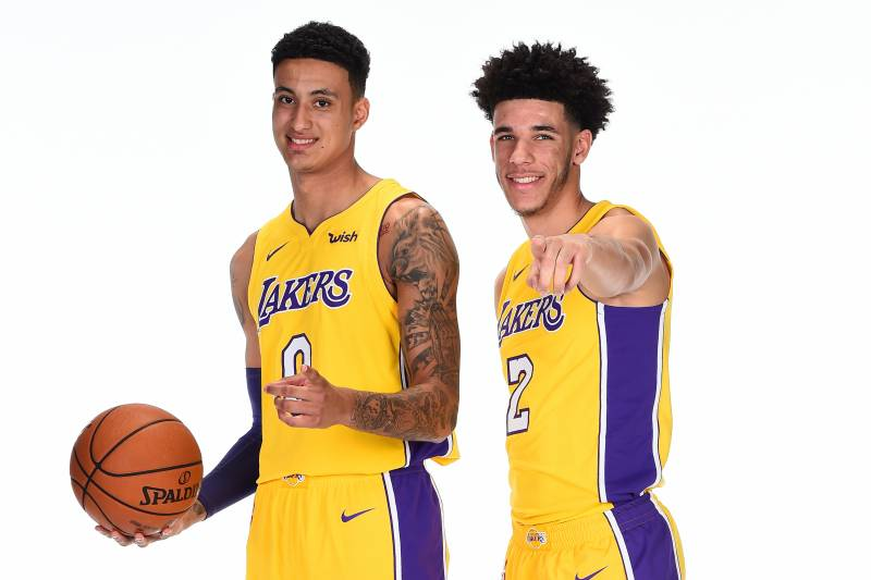 64ff17af0 Will Lonzo Ball or Kyle Kuzma Go Down as Lakers  Best Rookie This Season