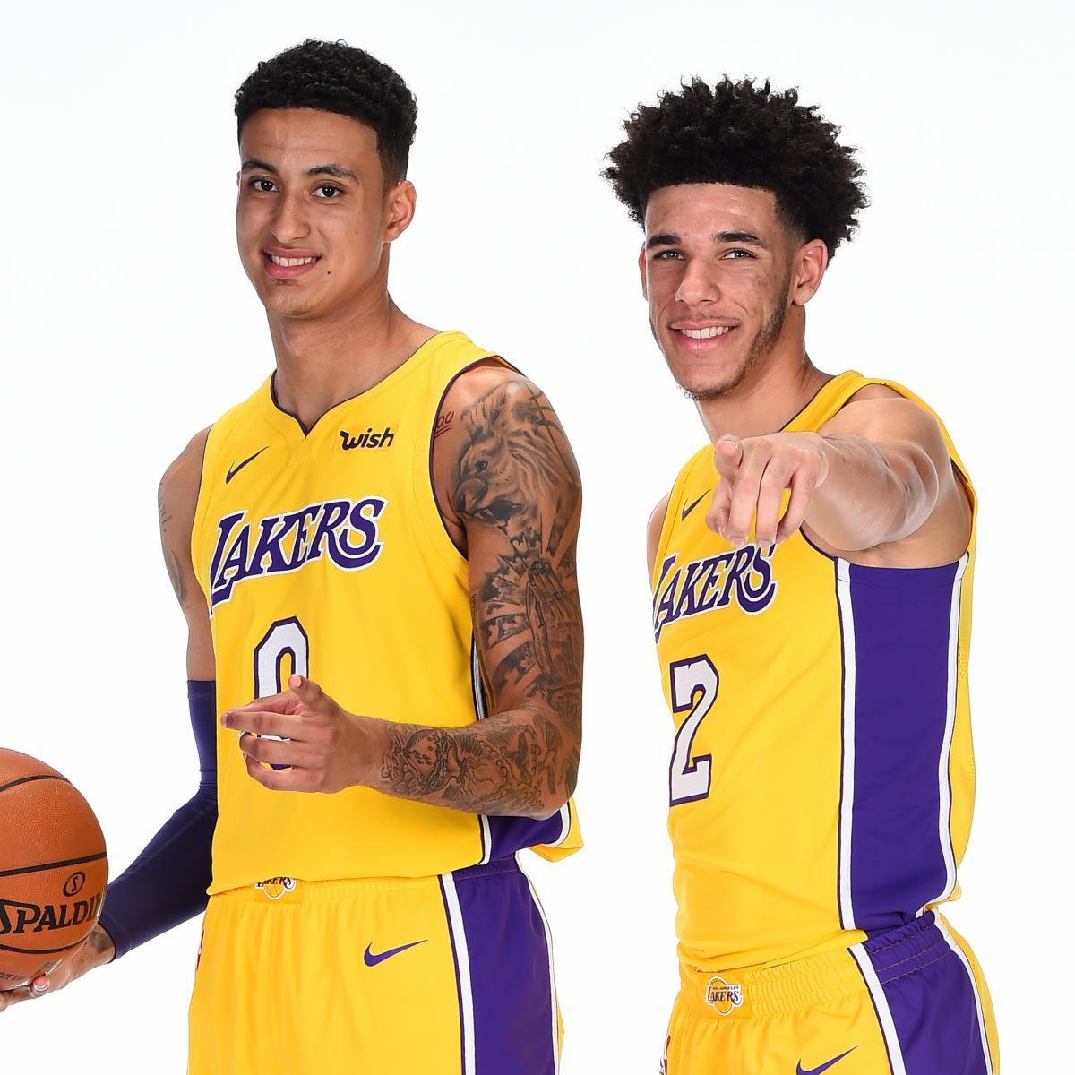 Will Lonzo Ball or Kyle Kuzma Go Down as Lakers  Best Rookie This Season   ca0fbaf4b