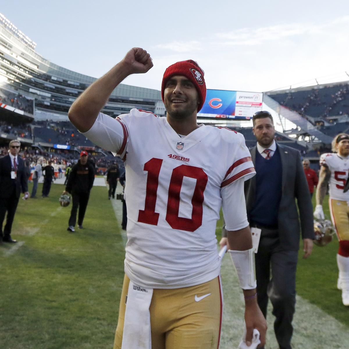 Nfl1000 Rookie Review From Week 9: NFL1000 Week 13 Notebook: Is Jimmy Garoppolo The Answer