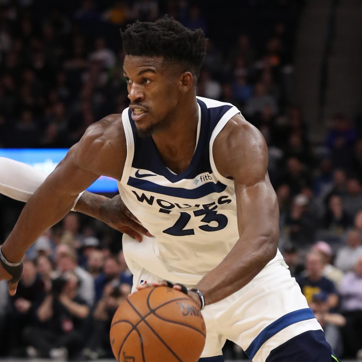 NBA Power Rankings: Jimmy Butler's Timberwolves Soaring