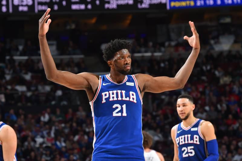 1b78cc4a787 NBA Power Rankings: Joel Embiid Has Philadelphia 76ers Rising ...