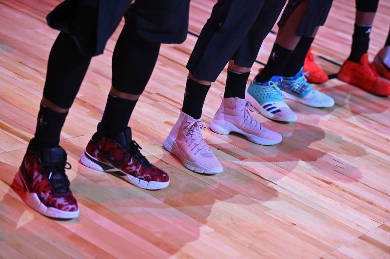2eb60a73695d Top Sneakers Worn During NBA All-Star Weekend 2018