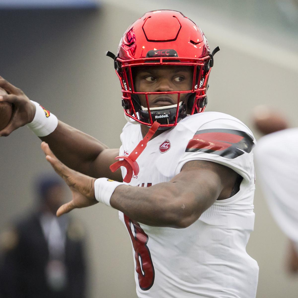 Lamar Jackson opted out of 40-yard dash at NFL Combine due