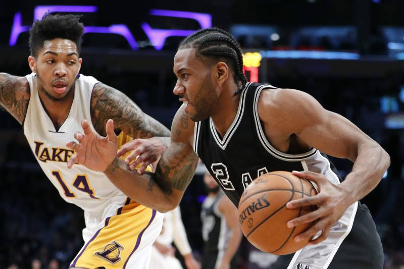 6d5c0576aaf Potential Trade Packages and Landing Spots for Spurs Star Kawhi Leonard