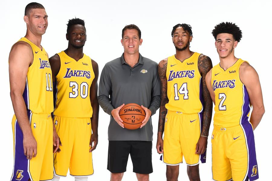 final report card grades for every los angeles lakers player