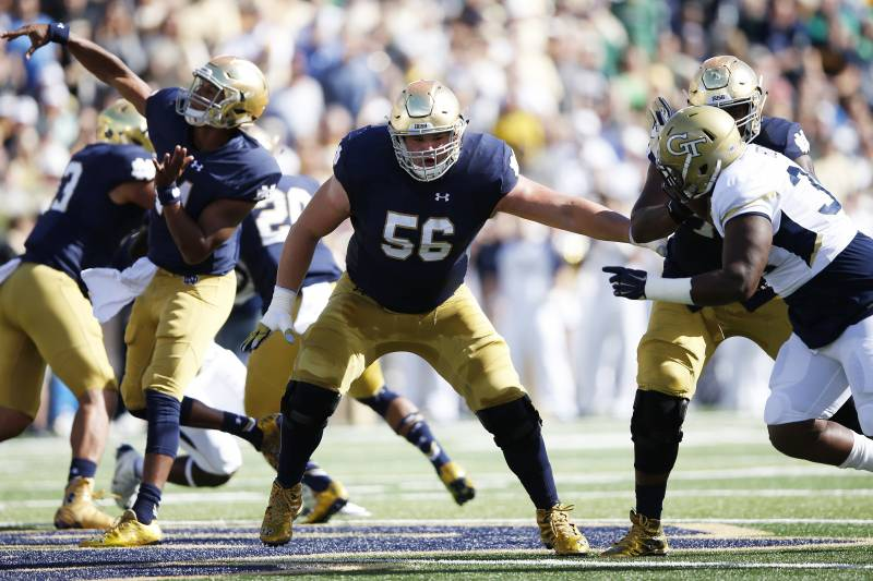 cff1e37ef0b NFL Draft 400: Ranking the Draft's Top Interior OL | Bleacher Report ...
