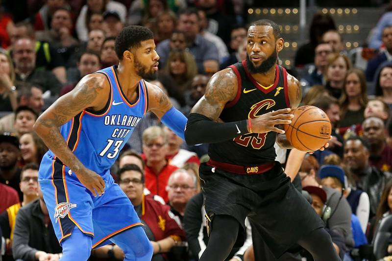 b7bb4beb5e5 Realistic Superstar Pairings That Could Form If Paul George Leaves OKC  Thunder