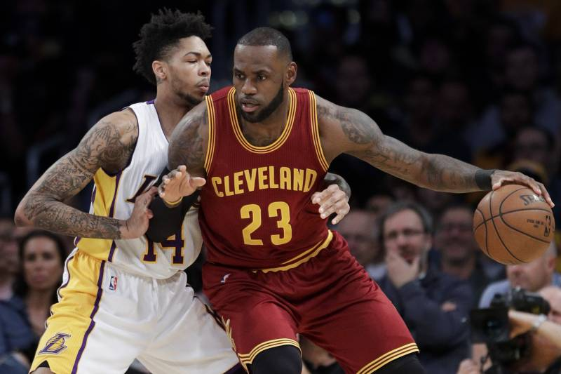 102353cb9 NBA Power Rankings  Where Do LA Lakers Sit After Inking LeBron James ...