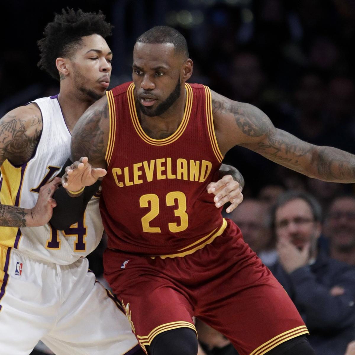 NBA Power Rankings  Where Do LA Lakers Sit After Inking LeBron James ... 693c756e1