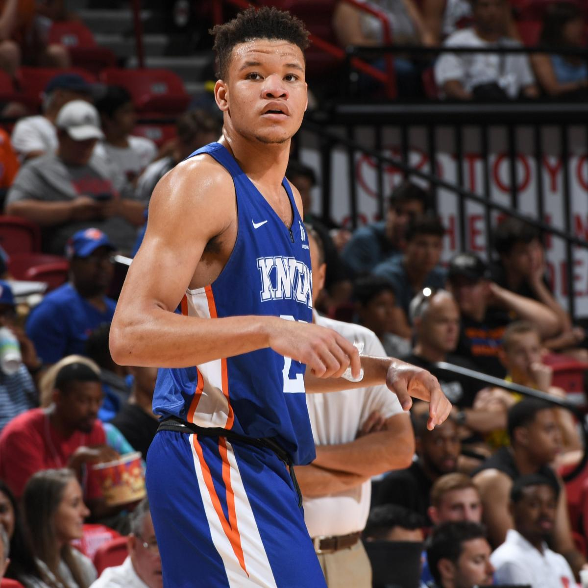 Predicting Kevin Knox's Rookie Stats For 2018-19 NBA