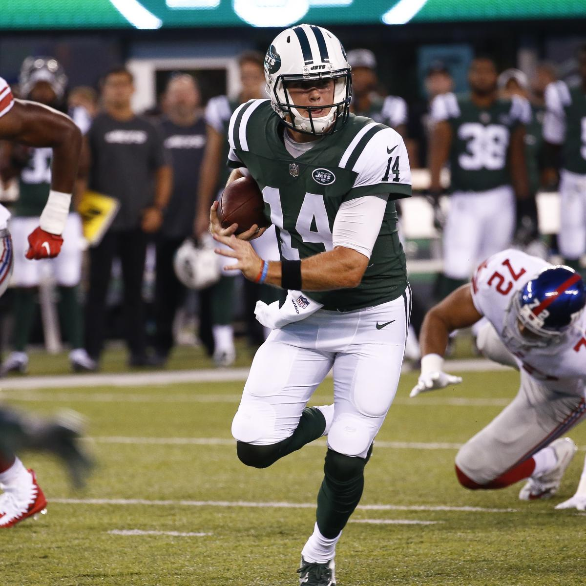 NFL Preseason Week 3 Roundup  Sam Darnold Is the Present and Future for the  Jets  67156de9f