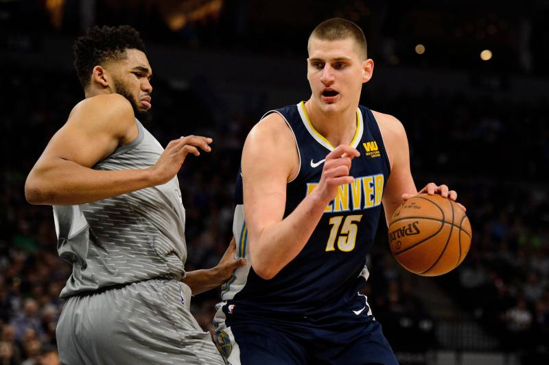 NBA Player Rankings: B/Rs Top 15 Centers Entering 2018-19