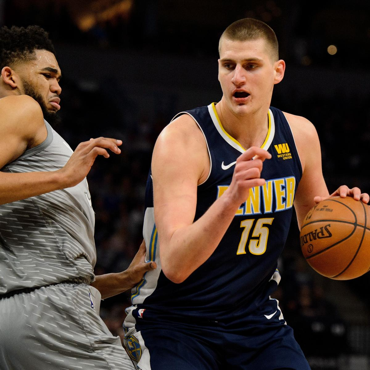 Ranking Nba S Top 5 Rookie Shooting Guards Entering 2018: NBA Player Rankings: B/Rs Top 15 Centers Entering 2018-19