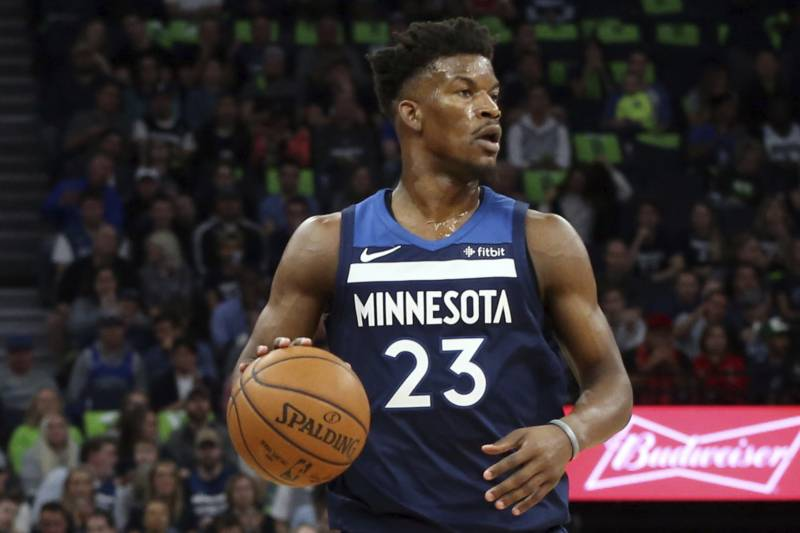 637199f69ec Potential Trade Packages and Landing Spots for Timberwolves Star Jimmy  Butler