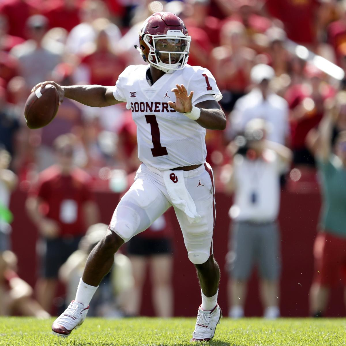 College Football Rankings 2018: Bleacher Report's Week 4 ...