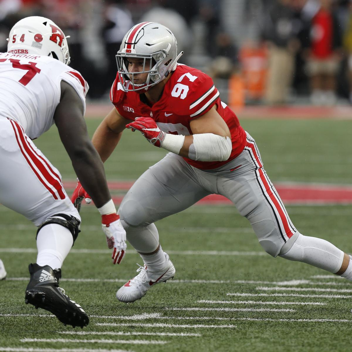 8a1a4fa8a 2019 NFL Mock Draft  Matt Miller s Latest Picks at Quarter Mark of NFL  Season