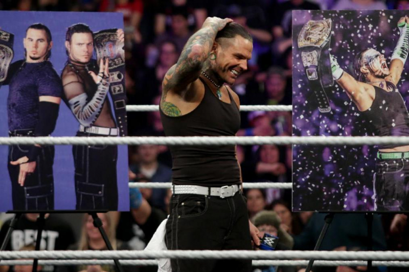 Examining Why WWE Fans Still Love Jeff Hardy After 20 Years