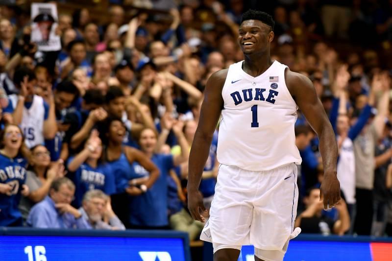 79d2e331fd1d 2019 NBA Mock Draft  Can Anyone Catch Duke s Zion Williamson for the No. 1  Spot