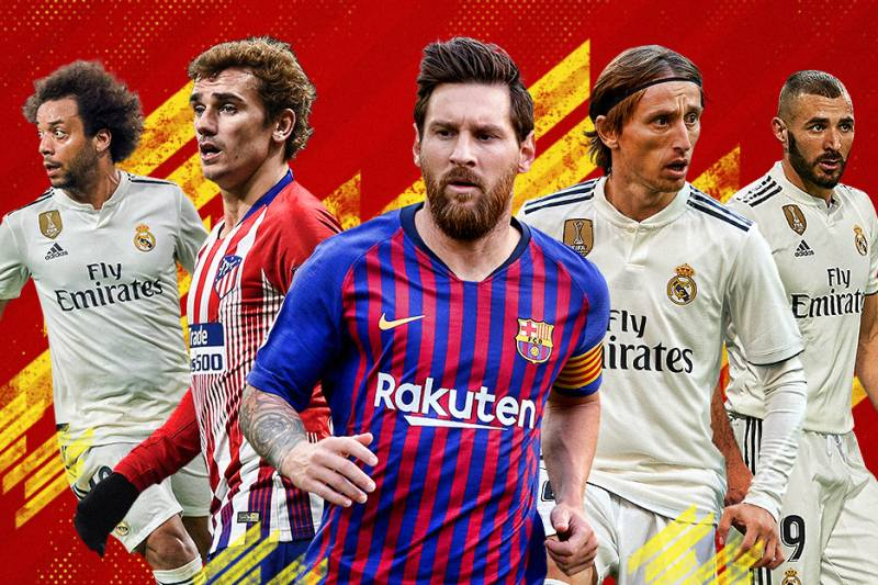 Ranking the Best 50 Players in La Liga in 2018 | Bleacher