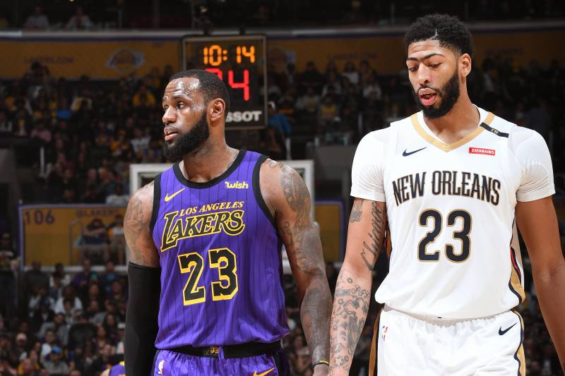 ee2f81a776a Trade Packages and Landing Spots for Anthony Davis