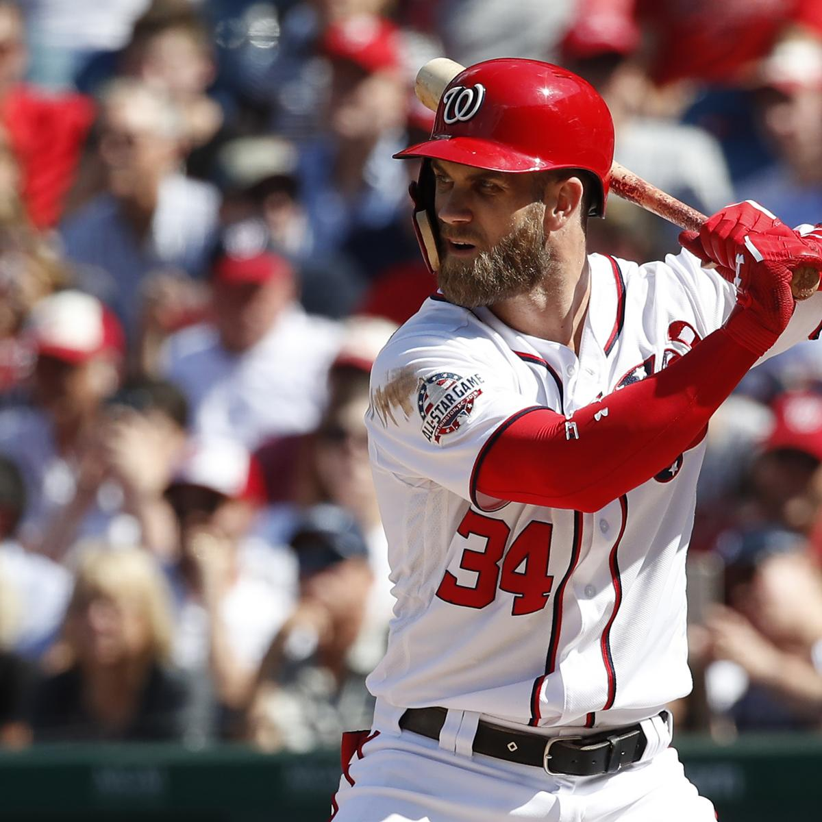 46c25fc3a MLB Power Rankings  How Bryce Harper to the Phillies Shakes Up Baseball