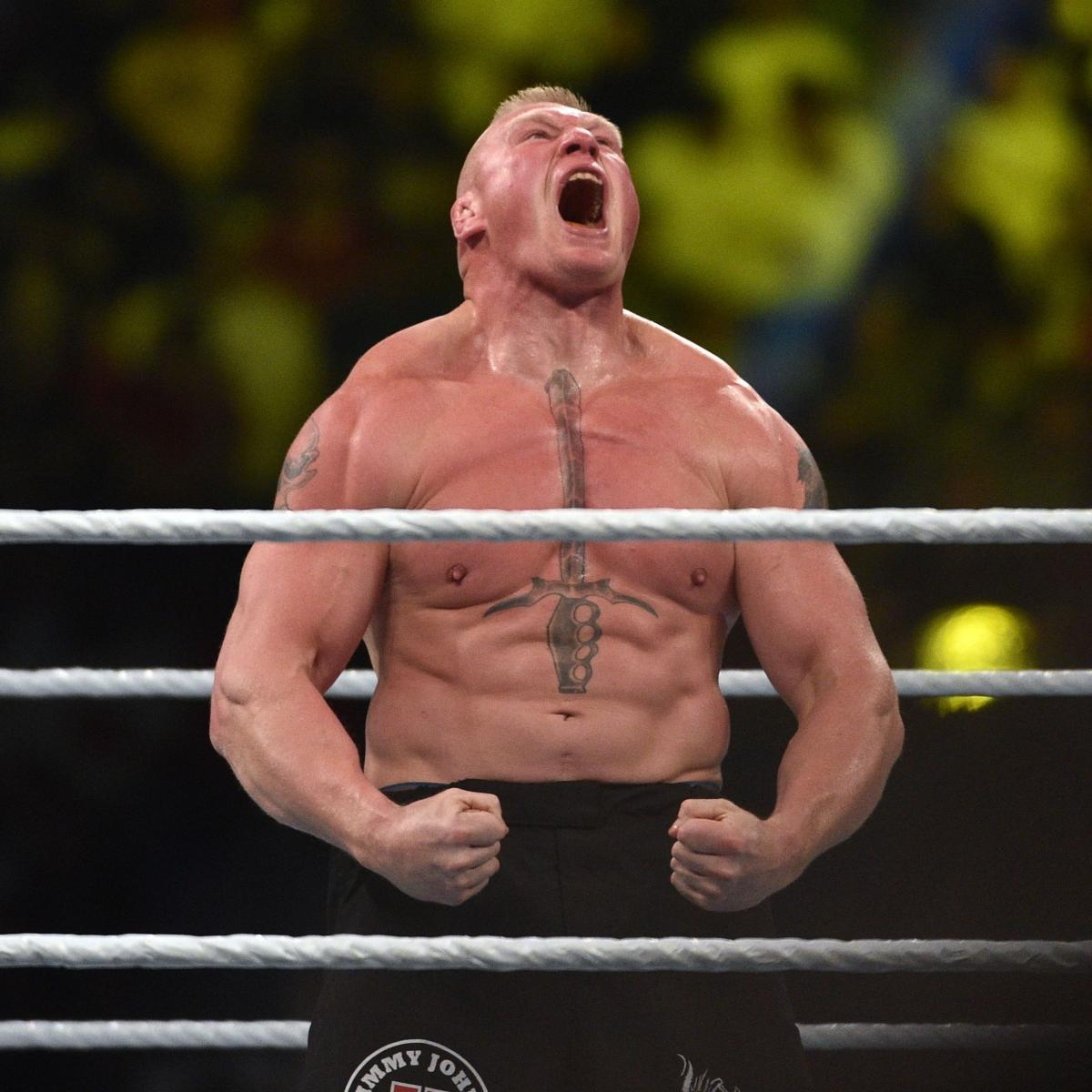 5 Opponents Brock Lesnar Still Must Face If He Signs New ...