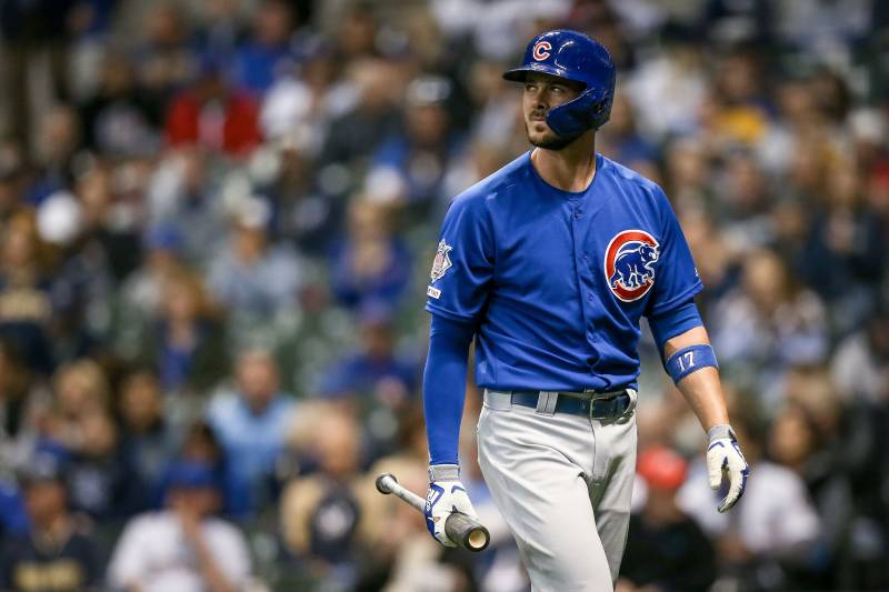 1e9e0de84eb How worried should the Chicago Cubs be about Kris Bryant s quiet start to  2019