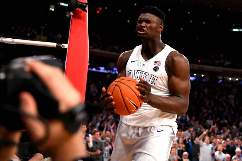 1b36e0bb9 NBA Lottery Teams Most Likely to Trade Zion Williamson If They Win No. 1  Pick