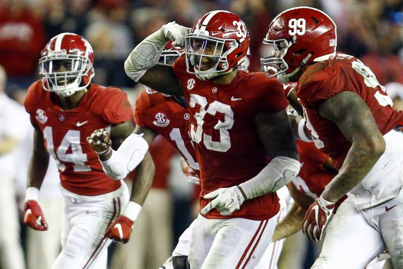 Best Nfl Defenses 2020.Predicting The Top 10 Defenses In College Football For 2019