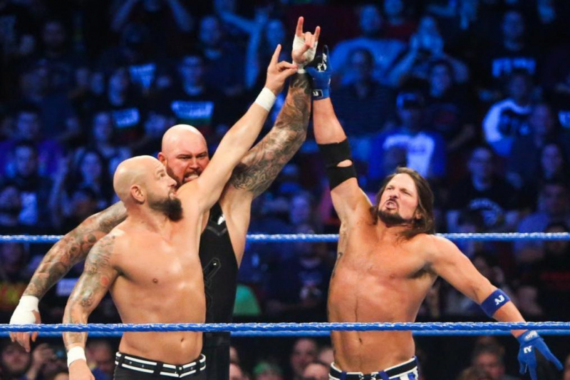 Fantasy Booking AJ Styles, Gallows and Anderson Bullet Club Reunion on WWE Raw