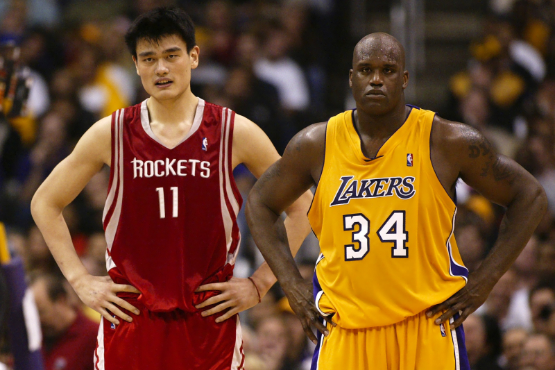 Ranking the Greatest NBA Centers Since 2000