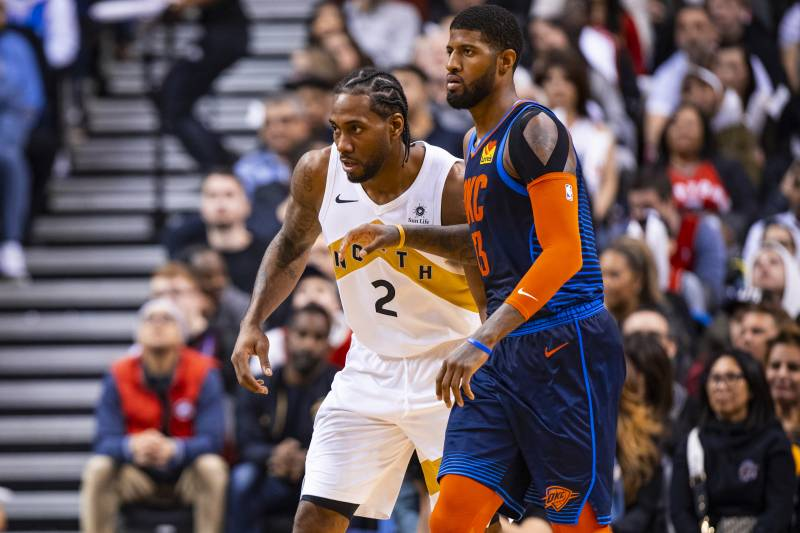 Ranking Every NBA Starting 5 After Kawhi Leonard, Paul George Bolt