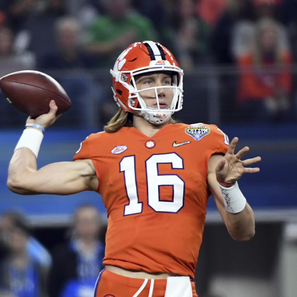 Football Start at Projecting Top College 25 Preseason  the