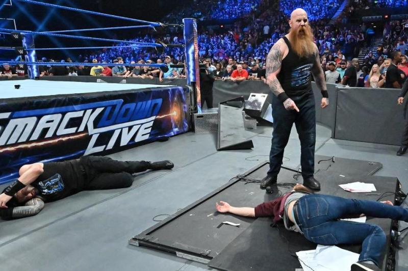 Erick Rowan Turns on Daniel Bryan, Chad Gable Wins, More WWE SmackDown Fallout