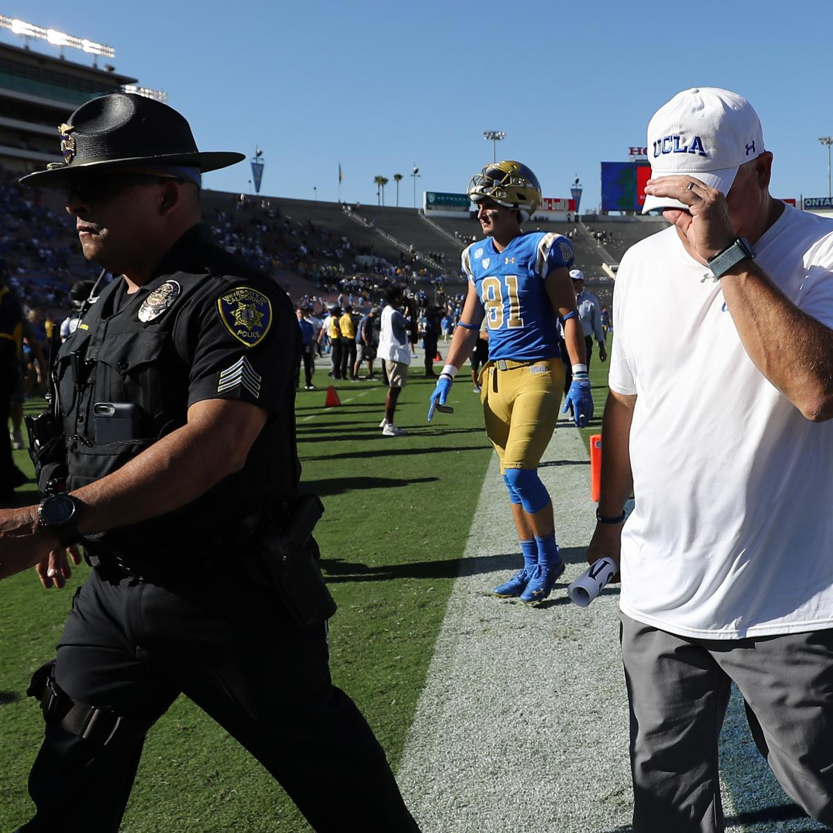 College Football Hot Seat: Coaches in Danger of Getting Fired After Rough Starts