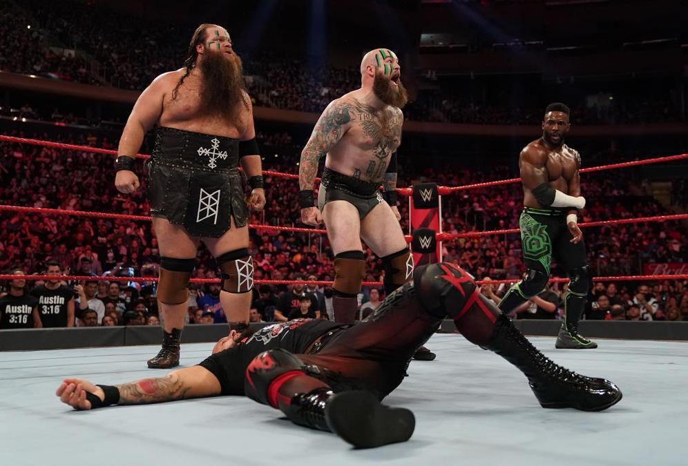 Resultado de imagen para WWE viking raiders alexander