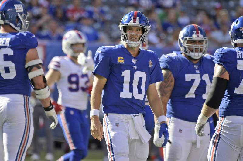 B/R Staff NFL Week 2 Report Card: Eli Manning's Time Coming to an End