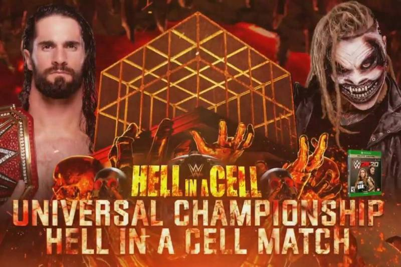 Hell in a cell 2020 results