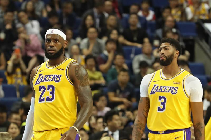 Projecting Every Nba Team S Opening Night Starting 5