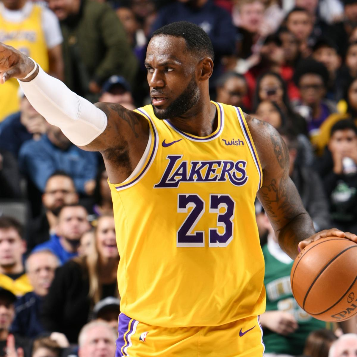 NBA Power Rankings: LeBron and the Los Angeles Lakers Rise Up