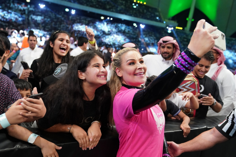 Off the Top Rope: Natalya Talks Vince McMahon's Role in History Making Match