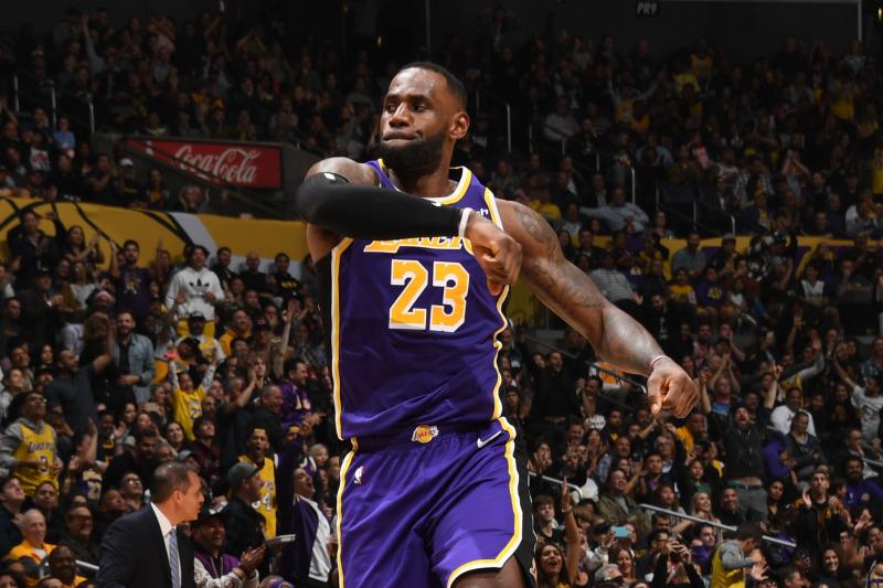 NBA Power Rankings: LeBron, Lakers Look Dominant After 4-0 Week