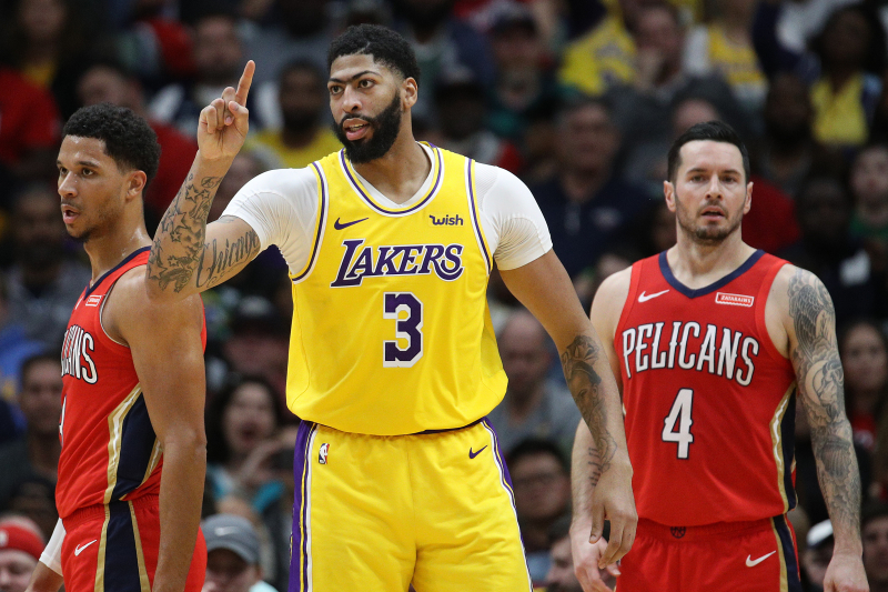 B/R NBA Digest: Can Anyone Stop LeBron James, Anthony Davis and the LA Lakers?