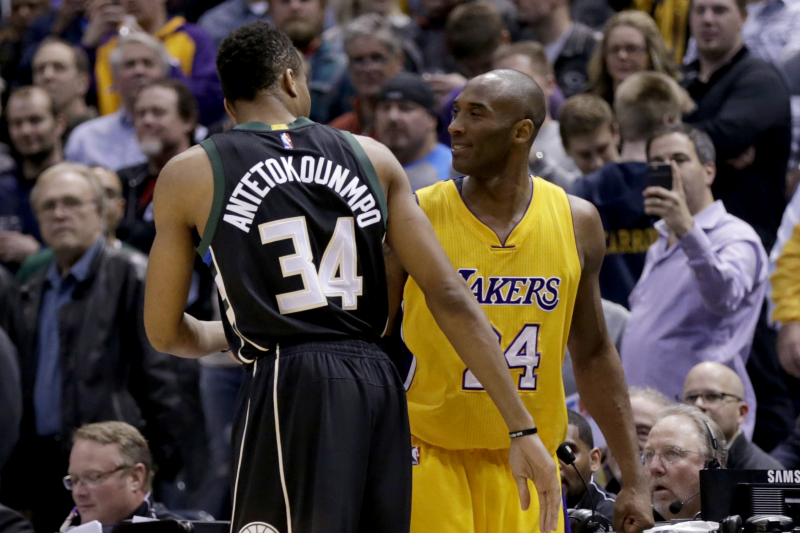 NBA Power Rankings: Utah Closes in on Lakers, Bucks as League Mourns Kobe Bryant