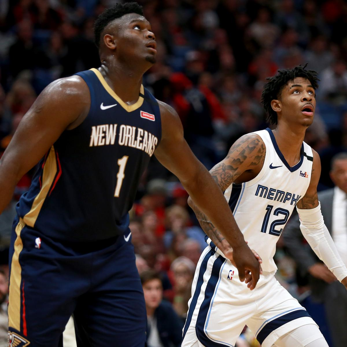 Predicting 2021 NBA All-Stars Means Making Room for Zion, Ja